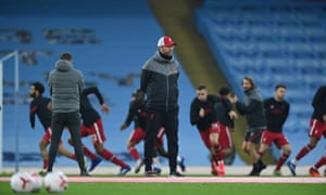 Klopp watches his ahead of the match
