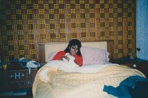 James Safechuck's photograph of Michael Jackson at Disneyland in 1988.