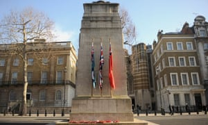 The Cenotaph, where the controversial Top Gear segment was filmed.