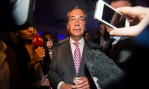 Nigel Farage awaits the result of the EU referendum vote: 'Campaigners used controversy to engage directly with electors via social media, shrugging off the questions of sceptical journalists.'
