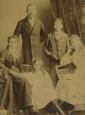 David Parr family portrait.