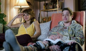 Lovely performance … Marisa Tomei with Pete Davidson.
