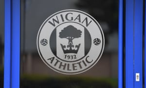 Wigan's relegation from the Championship had been confirmed by the EFL.