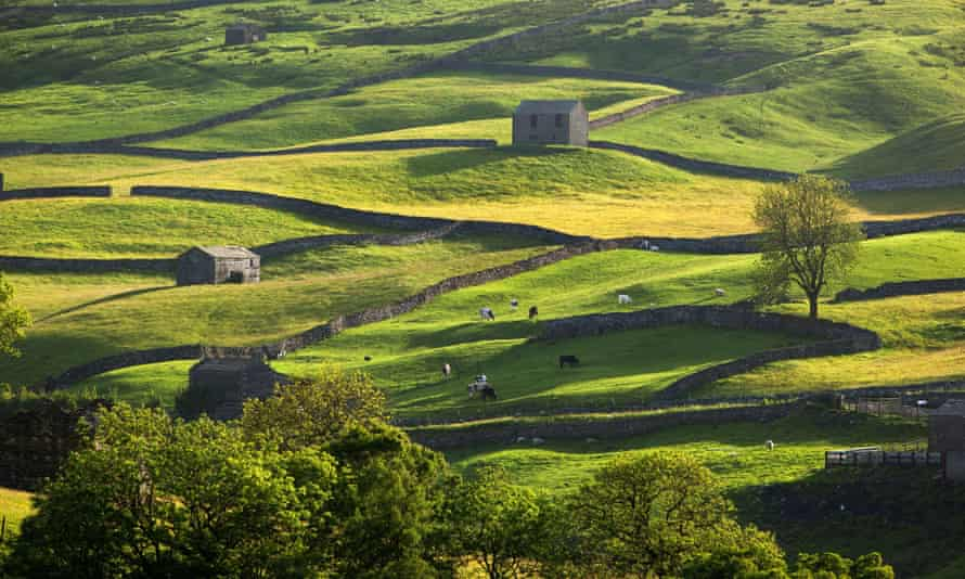 Swaledale, one of the most beautiful parts of the Yorkshire Dales: Keld Lodge, Keld, North Yorkshire.