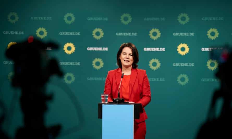 The Greens' Annalena Baerbock in Berlin last month.