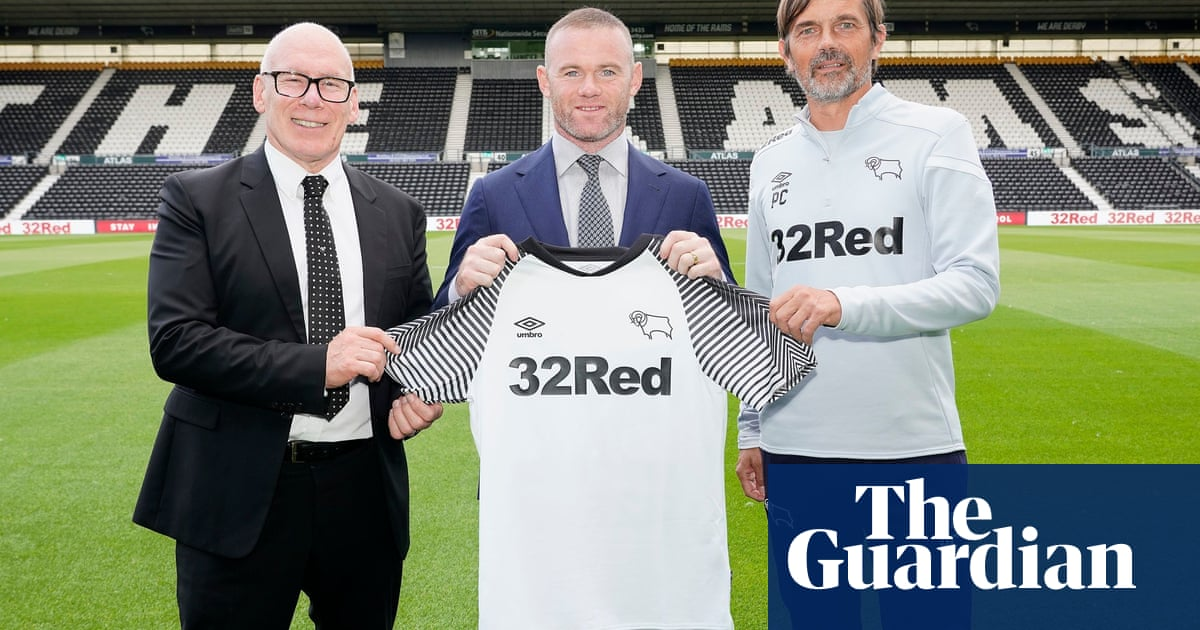 Nigel Adams says Derby giving Wayne Rooney No 32 shirt is 'very crafty'
