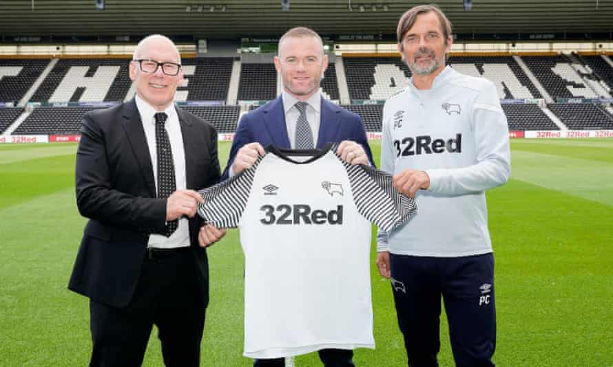 Nigel Adams Says Derby Giving Wayne Rooney No 32 Shirt Is Very Crafty Derby County The Guardian