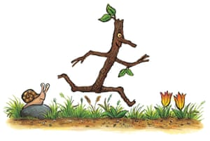 But Stick Man doesn't want to be any of these things. He wants everyone to see that he isn't a twig, or an arm, or a pen - his mantra is 'I'm Stick Man, I'm Stick Man, I'm Stick Man, that's me!'