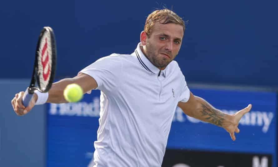 Dan Evans missed the Olympic Games in Tokyo after testing positive for Covid-19.