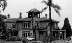 Niel Black's Glenormiston house, seen in 1968.