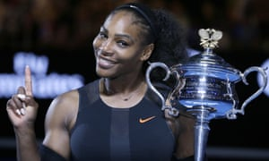 Serena Williams' most recent grand slam singles title came at the Australian Open in January