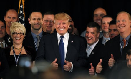 All smiles: Trump's numbers have seemingly withstood the avalanche of backlash over his anti-Muslim comments of the past week.