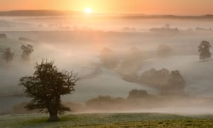 A sunrise near Bruton, Somerset: 'What is true during a crisis is not necessarily true when the crisis is over.'