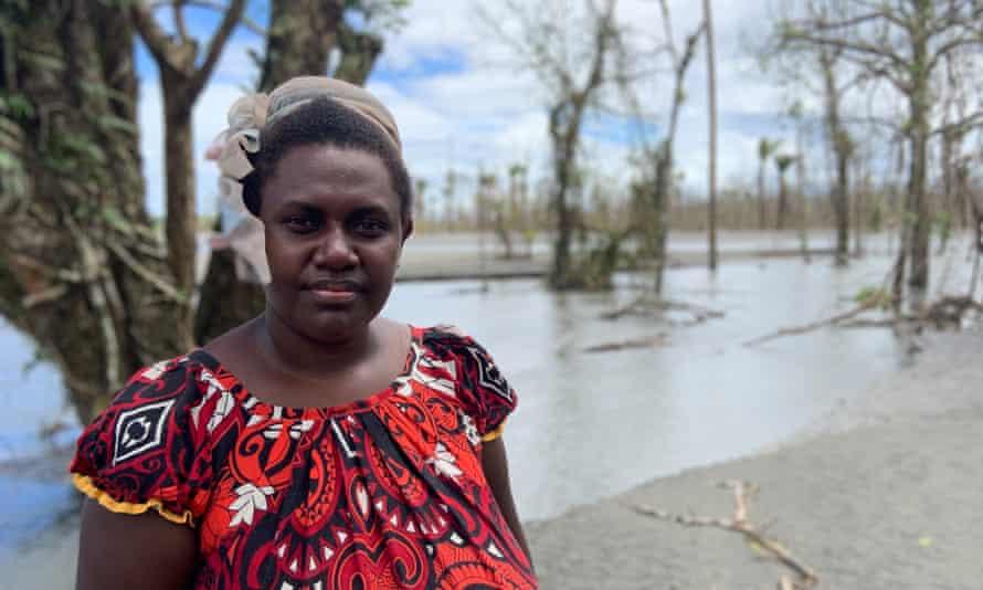 Theonila Roka Matbob, a traditional landowner from Makosi village in Bougainville