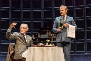 2016 As Spooner, with Owen Teale as Briggs in Sean Mathias's production of Pinter's No Man's Land