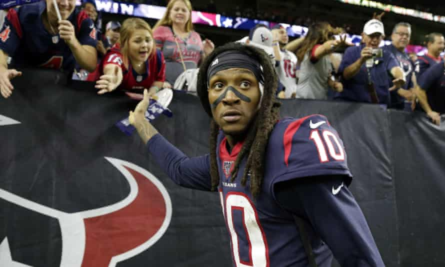 DeAndre Hopkins has played for the Texans since entering the league in 2013