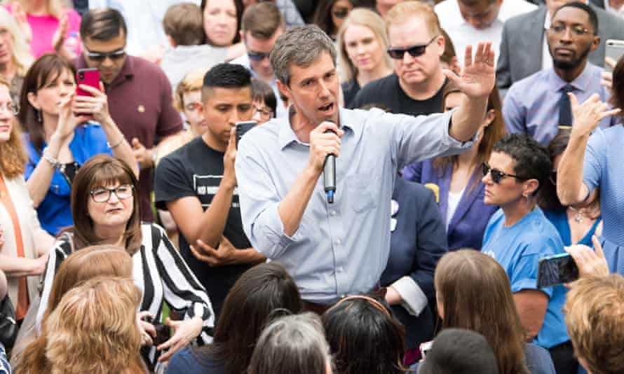 'He is hateful. He is racist,' Beto O' Rourke said about Trump.