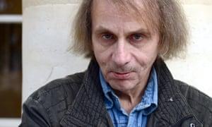 French writer Michel Houellebecq.