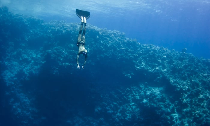Top diver's death casts long shadow over deep beauty of the