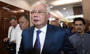 Najib Razak  heads to court over the 1MDB scandal