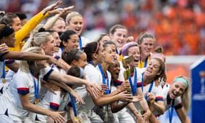 Les Etats-Unis ont de nouveau remporté la CdM de foot féminin.