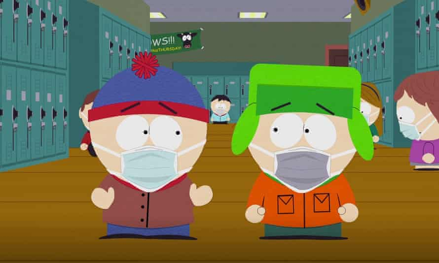 A still from South Park.