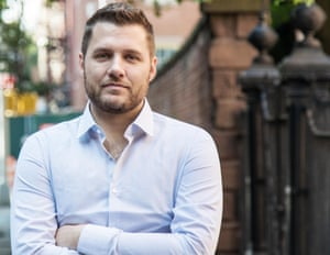 US author Mark Manson, whose book The Subtle Art of Not Giving a F*ck is a worldwide bestseller