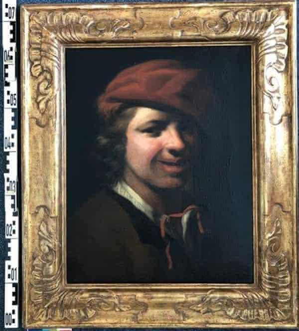 Portrait of a boy by the 17th-century Dutch artist Samuel van Hoogstraten