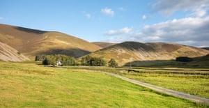 Fantasy remote: Peebles, Scottish Borders