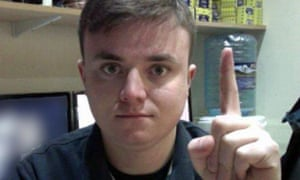 Screengrab Jack Renshaw, a white supremacist whoi planned to kill Labour MP Rosie Cooper. BBC