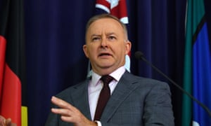 Labor leader Anthony Albanese