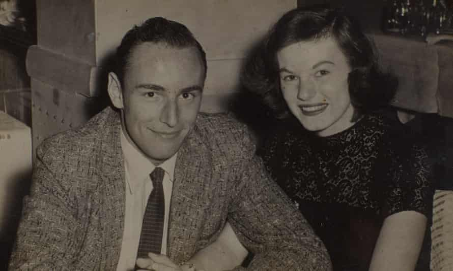'Photo of me and my wife taken in 1956 a few minutes after I had proposed to her': George and Ann.