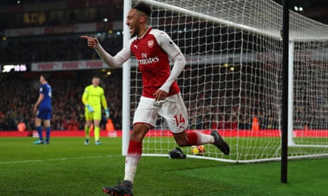 Aubameyang can follow Thierry Henry's lead, says Arsène Wenger