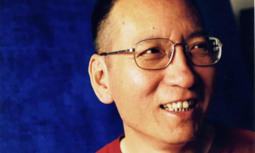 An undated image of Chinese dissident and civil rights activist Liu Xiaobo in Beijing, released by his wife Liu Xia.