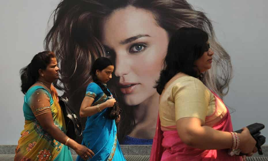 In India and across the world, adverts constantly reinforce the message that lighter skin is more desirable.