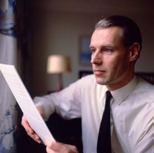 'Scrupulously honest': George Martin in 1965.
