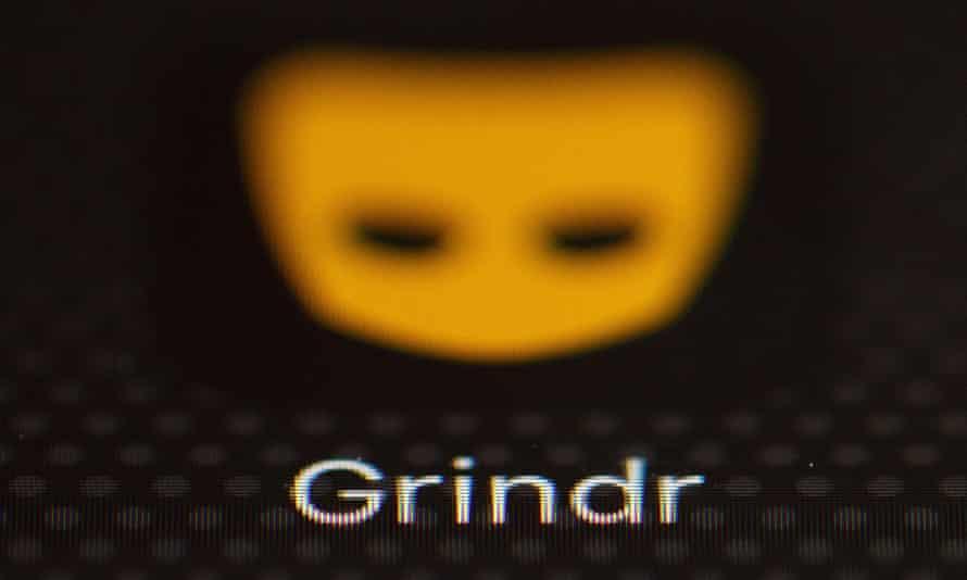 The Grindr app logo.