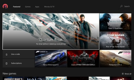 Xbox One New Stores View