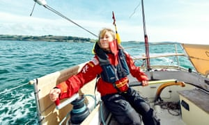 Susie Goodall, the sole female entrant in the 2018 Golden Globe Race.
