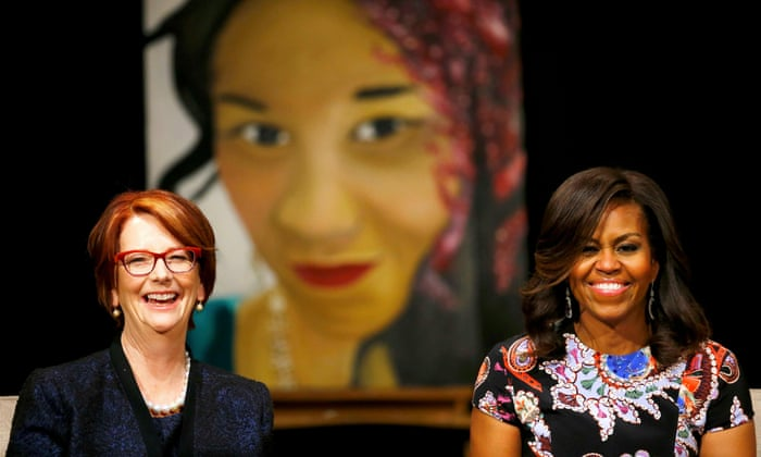 82b4003a19 Michelle Obama tells London schoolgirls 'the world needs you' | US news |  The Guardian