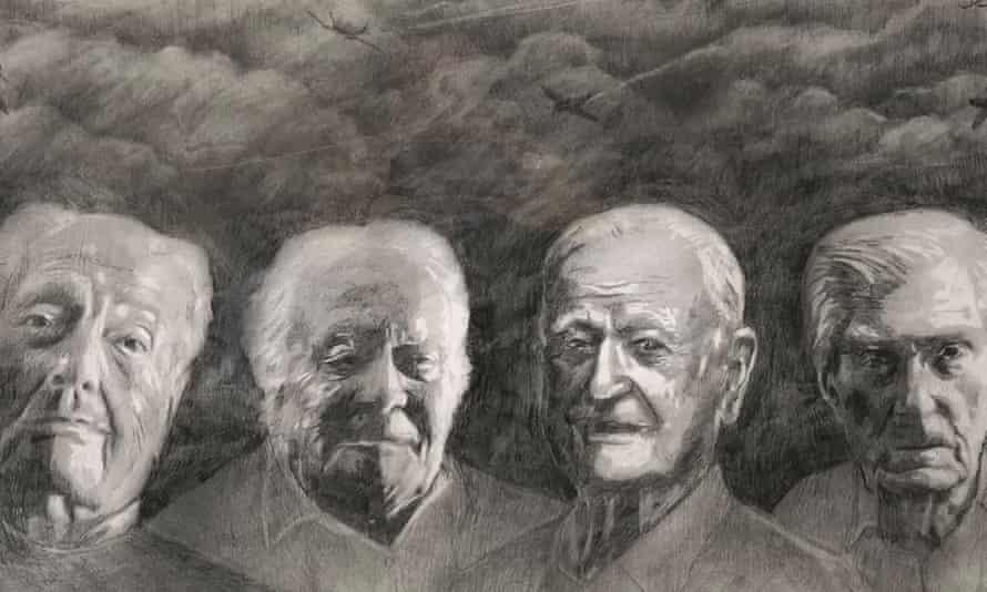 John 'Tim' Elkington, Geoffrey Wellum, Tom Neil, and Paul Farnes
