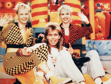 Sharp with Melanie and Martina Grant on Funhouse.