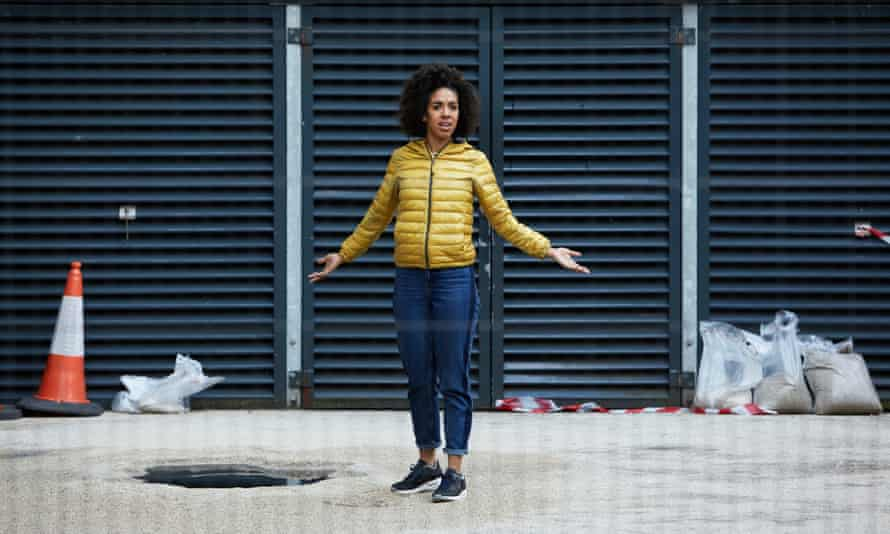 Bill Potts (Pearl Mackie) in Doctor Who.