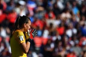 Chile's goalkeeper Christiane Endler.