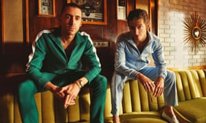 Miles Kane and Alex Turner AKA the Last Shadow Puppets.