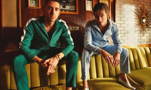 Miles Kane and Alex Tuner of the Last Shadow Puppets.