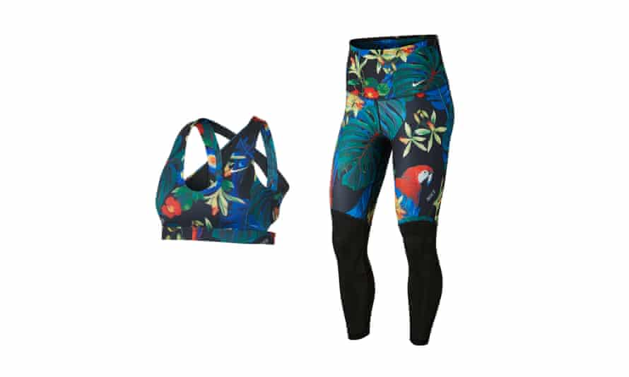 Indy sports bra, £31.95, and power training tights, £47.95, nike.com