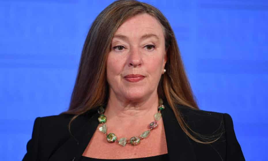 Law Council of Australia president Pauline Wright at the National Press Club in Canberra on Wednesday