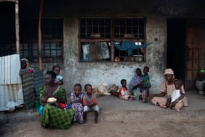 17 displaced people share residence in and old occupied house in Over Sea, Maiduguri.