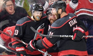 The Carolina Hurricanes qualified for the playoffs as a wildcard, and are into the Eastern Conference after knocking out defending champions the Washington Capitals